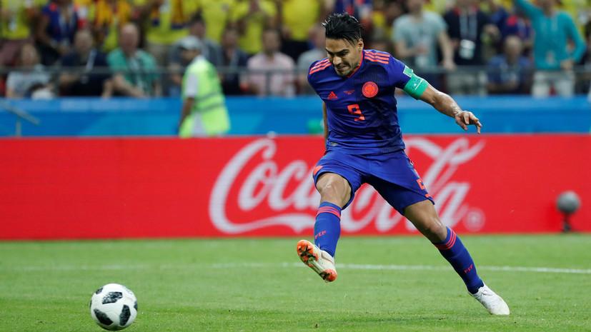 Фалькао впервые в карьере забил мяч на чемпионате мира по футболу