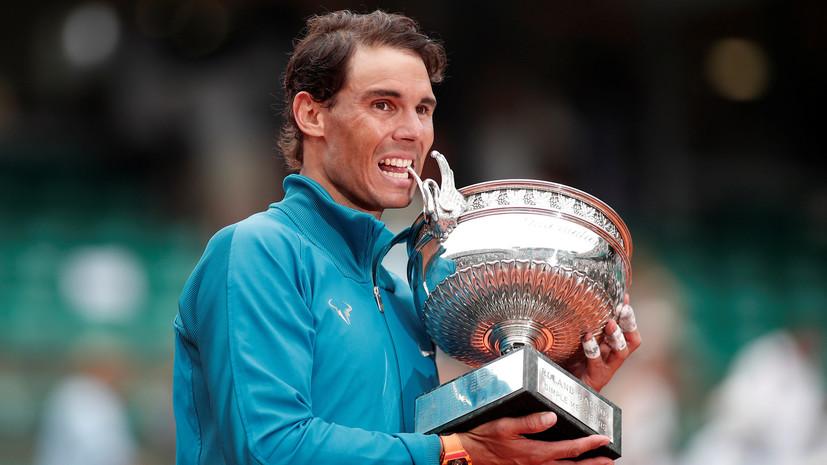 Надаль вернулся на первую строчку рейтинга ATP, опередив Федерера