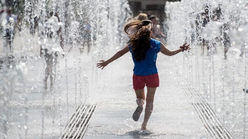 Синоптики прогнозируют тёплую погоду в Москве на этой неделе