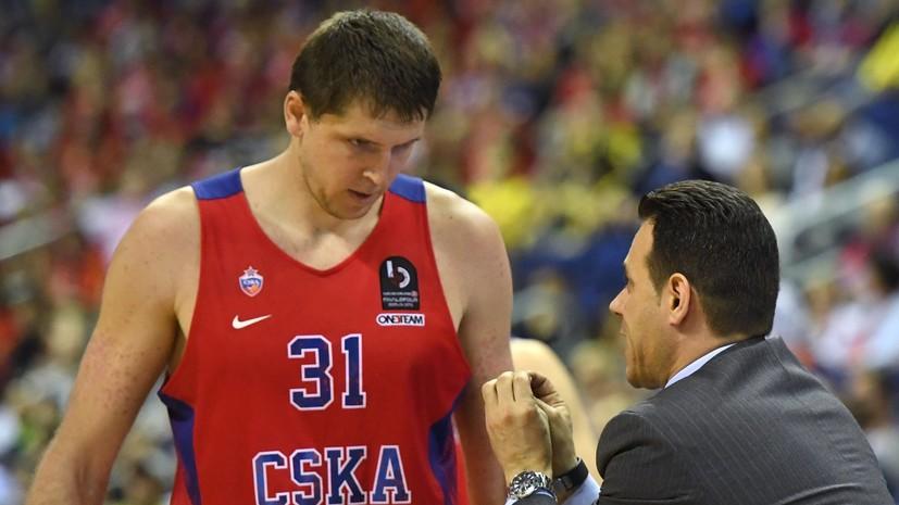 Баскетболисты Виктор Хряпа и Виталий Фридзон покидают московский ЦСКА. ©