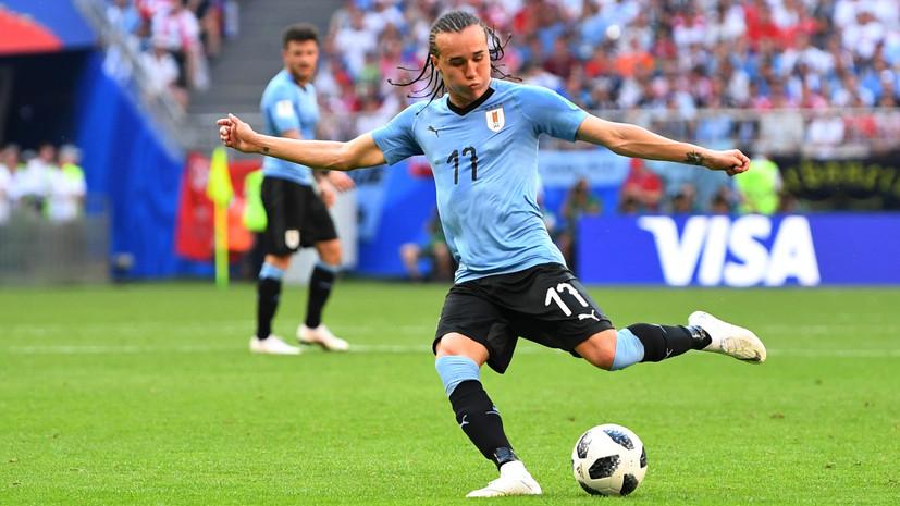 Диего Лаксальт забил второй мяч в ворота сборной России