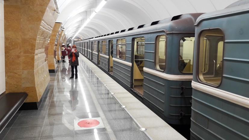 Движение поездов на красной ветке метро Москвы восстановлено