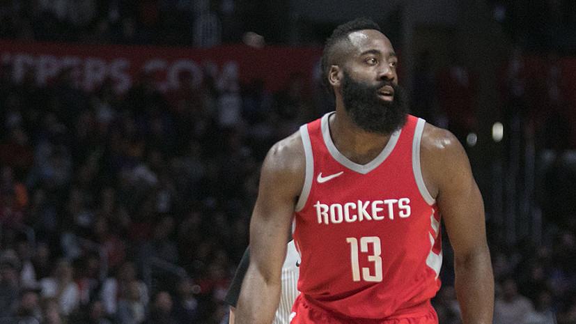 Харден признан самым ценным игроком сезона-2017/18 в НБА