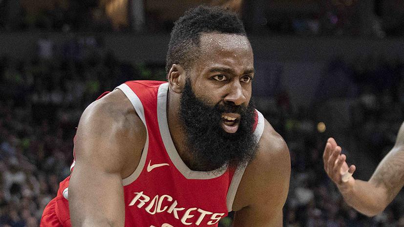 Баскетболист Харден: не собираюсь останавливаться на одном MVP