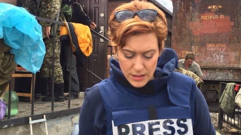 Корреспондент RT Пола Слиер прокомментировала запрет въезда на Украину