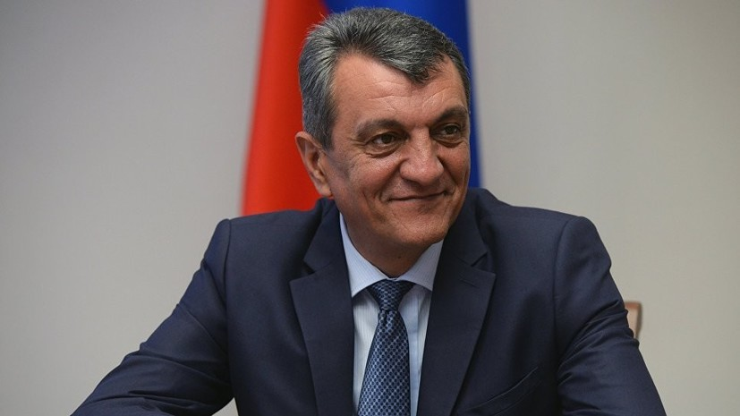 Путин назначил Меняйло полпредом в Сибирском федеральном округе