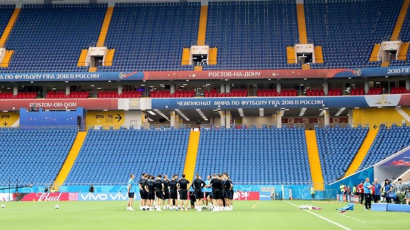 В МЧС предупредили о сильной жаре в день матча Исландия — Хорватия в Ростовской области