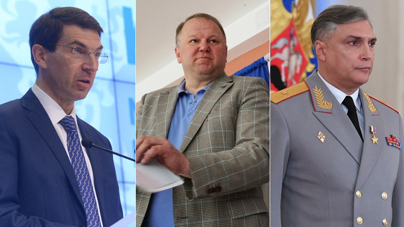 Кадровые решения: Путин назначил трёх новых полпредов в федеральных округах