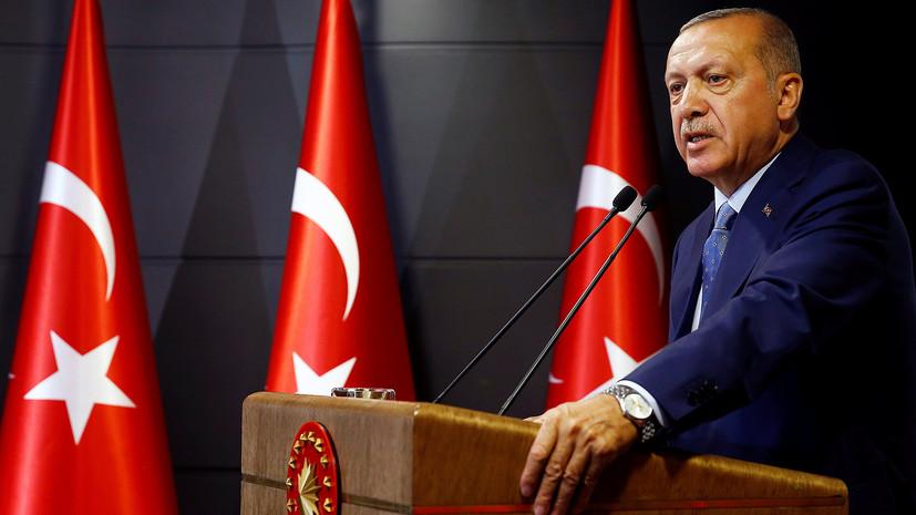 Туск и Юнкер поздравили Эрдогана с переизбранием на пост президента Турции