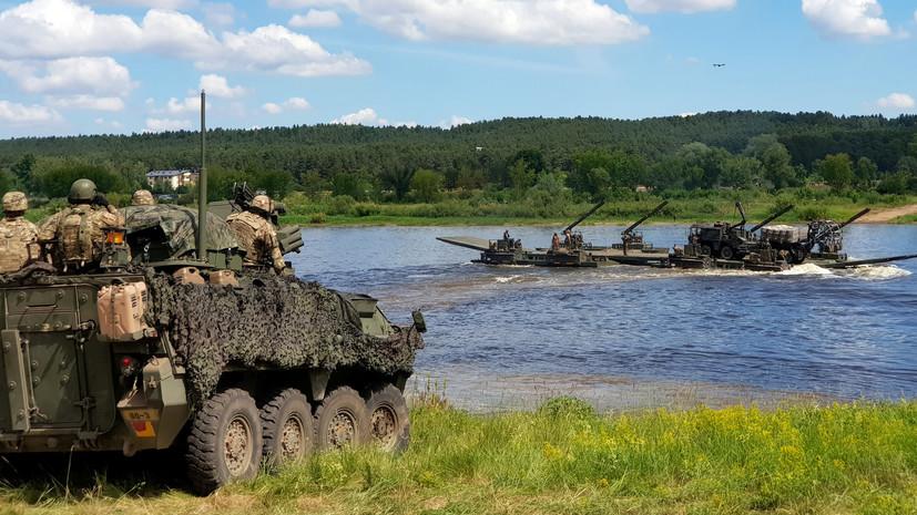 Грушко заявил, что учения НАТО в Прибалтике ухудшают региональную безопасность