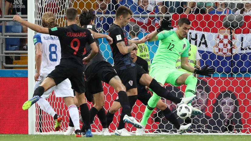 Видеообзор матча ЧМ-2018 по футболу Исландия — Хорватия