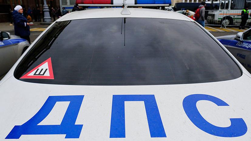 На юге Москвы в ДТП с грузовиком пострадали три человека