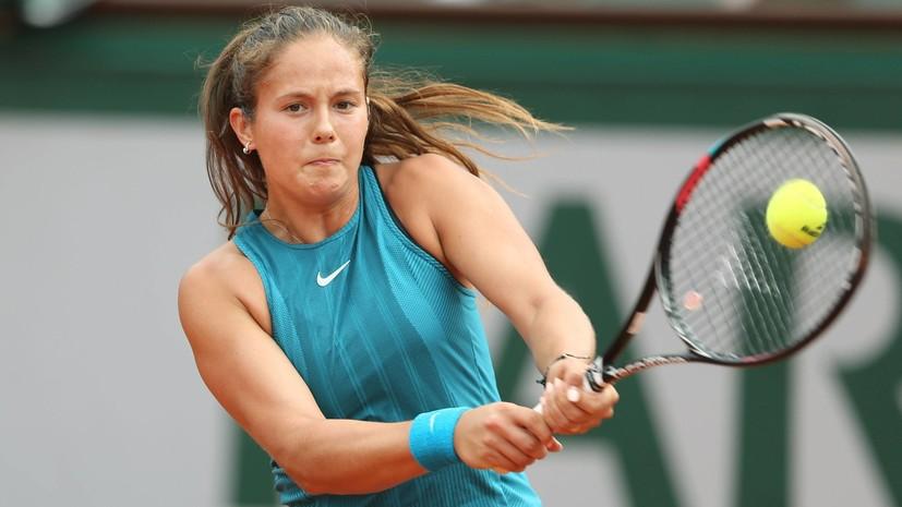 Касаткина обыграла Севастову и вышла в четвертьфинал теннисного турнира в Истбурне