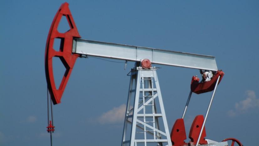 Цена нефти марки Brent превысила $77 за баррель