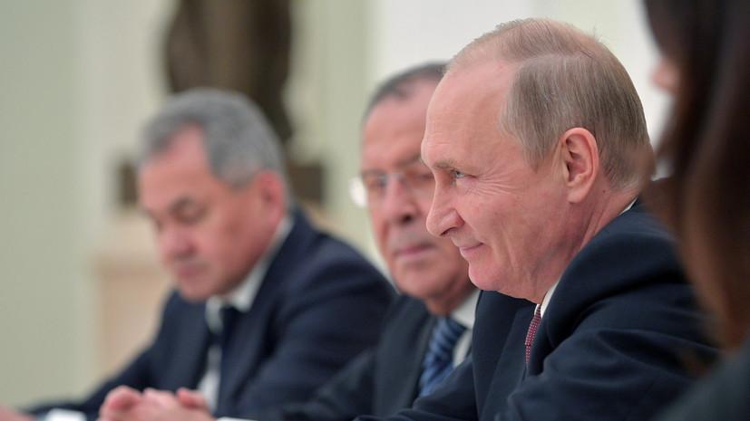 Путин через Болтона передал привет Трампу