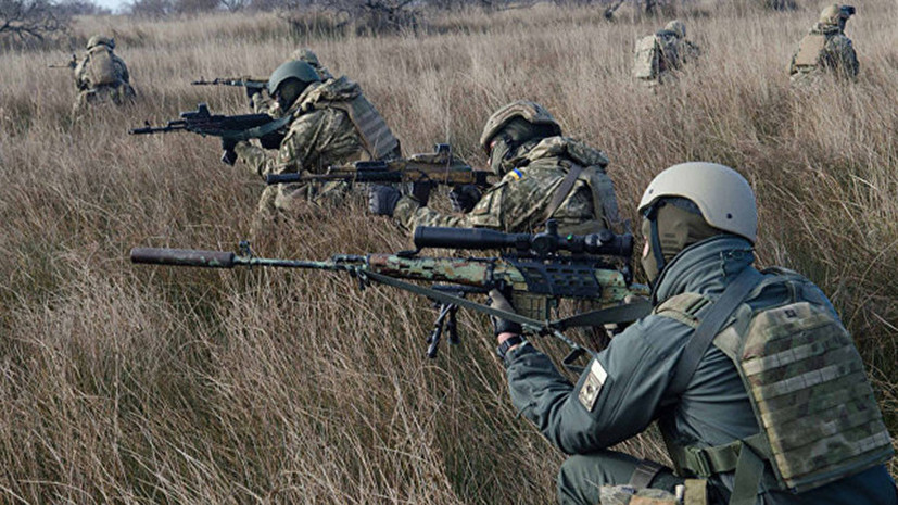 В Крыму сравнили военные учения Украины с игрой в оловянных солдатиков