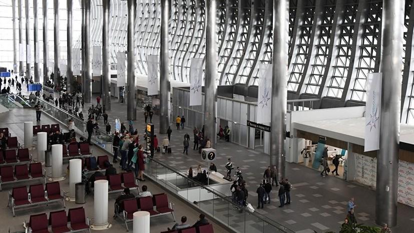 Новый аэропорт Симферополя с момента открытия обслужил 1 млн пассажиров