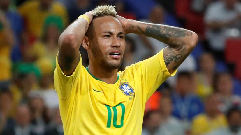 Шмейхель считает, что Неймар стал проблемой для Бразилии в матче ЧМ-2018 с Сербией