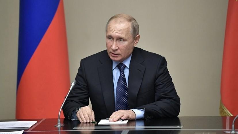 Путин заявил, что ракетный комплекс «Авангард» поступит на вооружение в ближайшее время