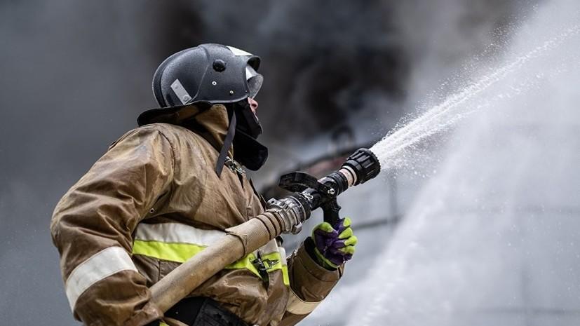 Возгорание произошло в здании «Башнефти» в центре Москвы