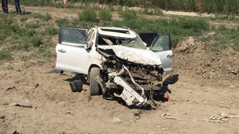 Источник: в Дагестане в ДТП с маршруткой погибли два человека и шестеро пострадали