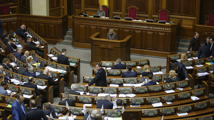 Украинский депутат заявил, что Порошенко может распустить Верховную раду