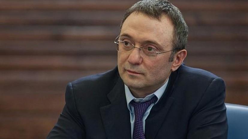 Адвокат заявил, что во Франции сняли все обвинения с Керимова