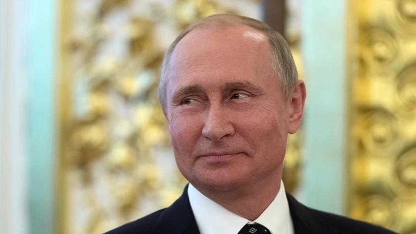 Испанский болельщик попросил Путина пронести барабан на матч с Россией