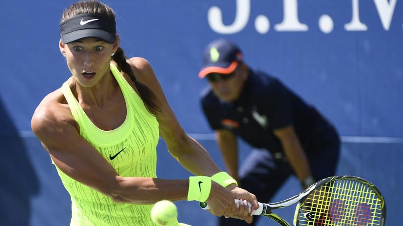 Россиянка Дьяченко обыграла соотечественницу Жук и вышла в основную сетку теннисного Уимблдона