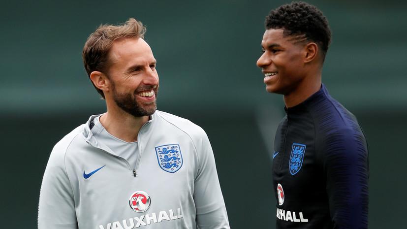 Стали известны стартовые составы сборных Англии и Бельгии на матч ЧМ-2018
