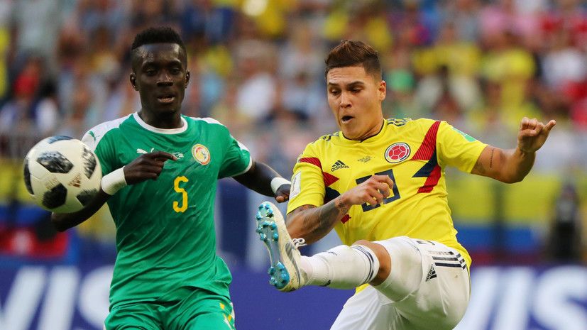 Футболист сборной Сенегала рассказал, почему его команда проиграла Колумбии в матче ЧМ-2018
