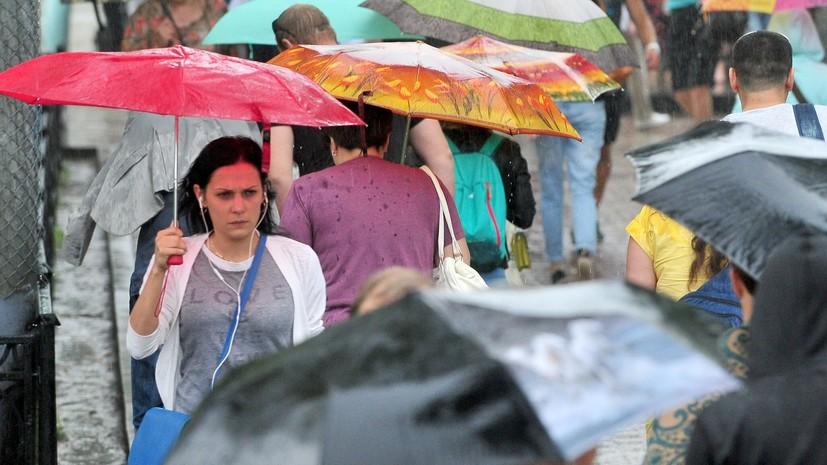 В Москве 30 июня объявлен «жёлтый» уровень погодной опасности