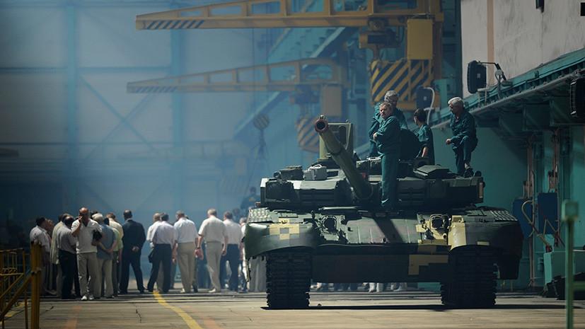 Тяжёлый груз: как провал Украины на военном конкурсе в Германии объяснили «трясущейся пушкой» новых танков