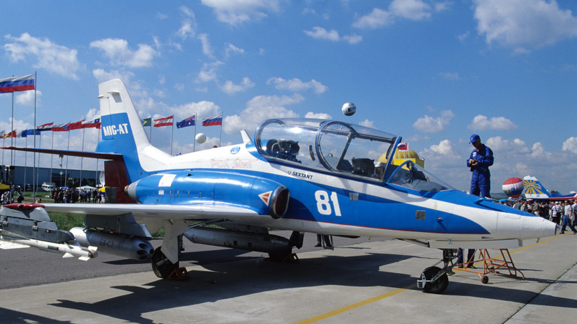 В ОАК заявили о возможности возобновления поставок самолёта МиГ-АТ в Минобороны