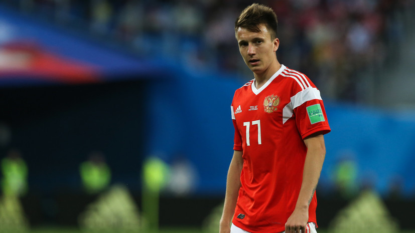 Головин вошёл в десятку лучших футболистов группового этапа ЧМ-2018 по мнению британских СМИ