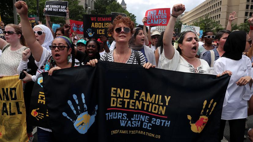Сьюзан Сарандон сообщила о своём задержании на акции протеста в США
