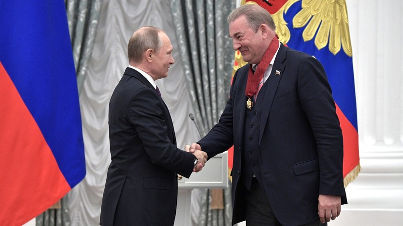 Путин объявил благодарность Ротенбергу и Третьяку за подготовку хоккеистов к ОИ-2018
