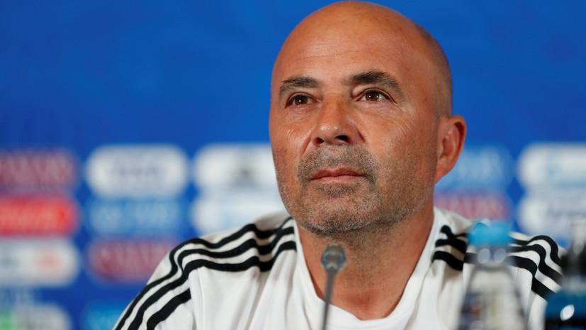 Тренер сборной Аргентины Сампаоли прокомментировал разговор с Месси во время матча с Нигерией