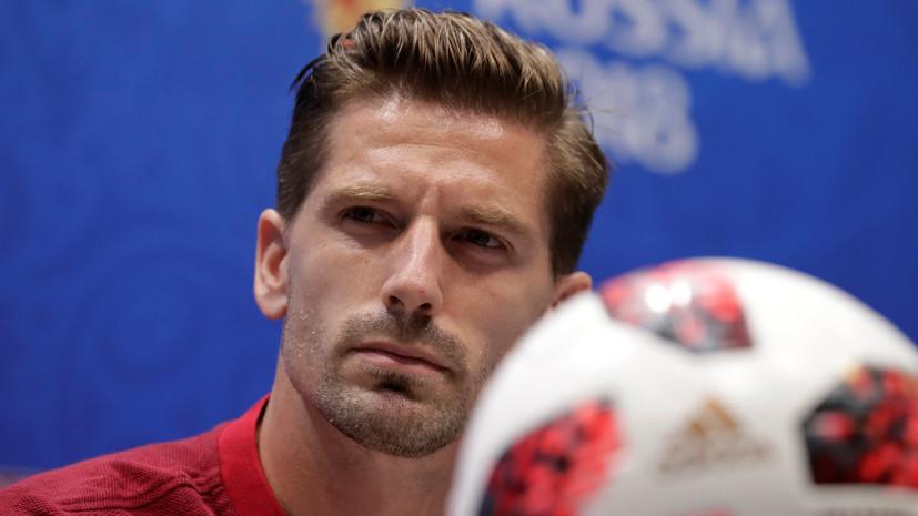 Футболист сборной Португалии Адриен Силва: играть на «Фиште» приятно