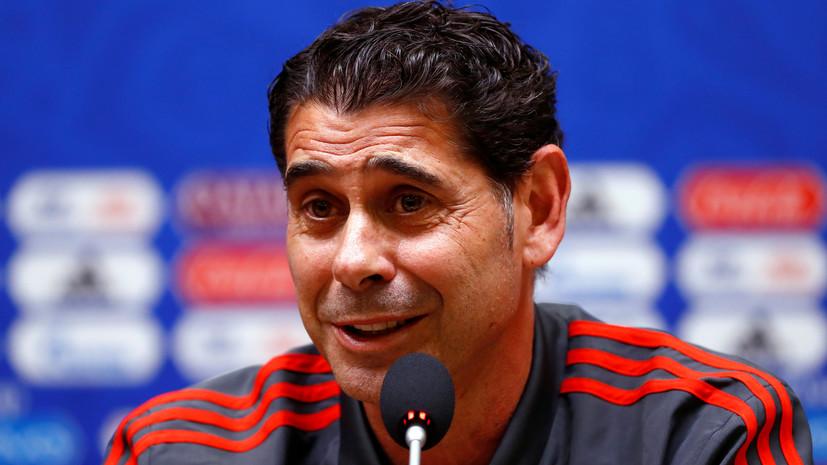 Тренер сборной Испании Йерро: у нас есть чёткий план на матч с Россией