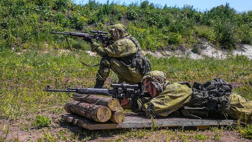 Российские военные использовали сирийский опыт на учениях в Подмосковье