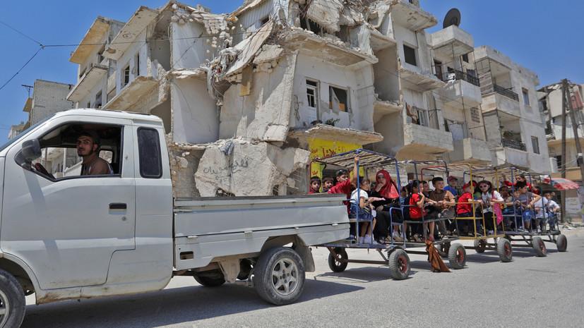 Центр по примирению: обстановка в сирийских провинциях Хама и Хомс нормализуется