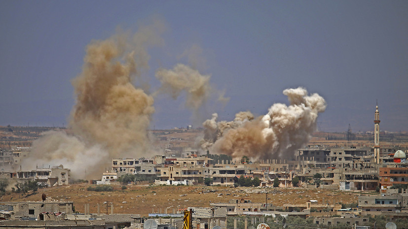 СМИ: Взрыв произошёл у школы в сирийской провинции Эль-Хасака