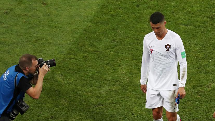Роналду ни разу в карьере не забивал в плей-офф ЧМ