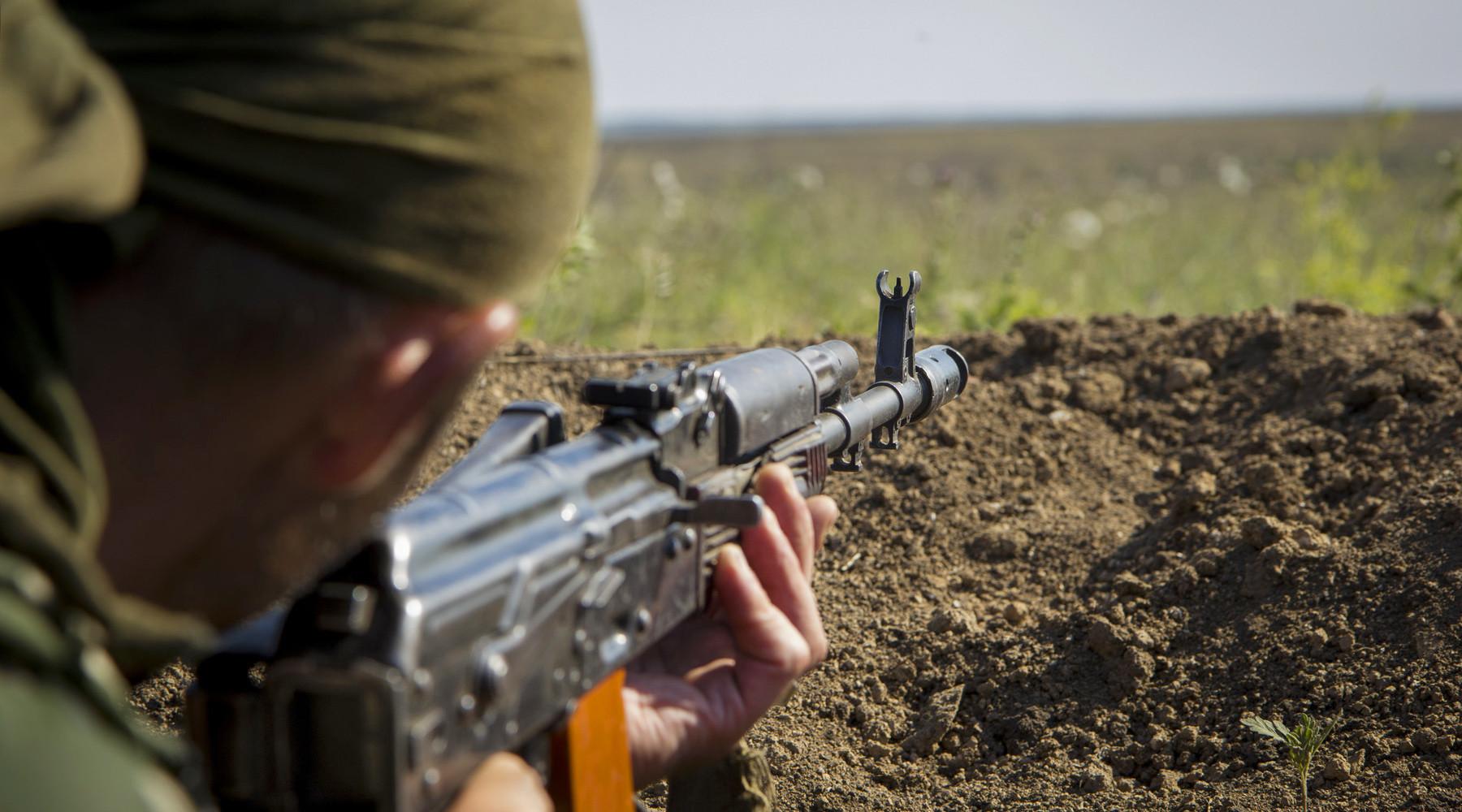 Эксклюзивный репортаж: Украинский солдат не готов убивать людей и хочет домой