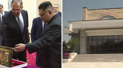 Дворец Ким Чен Ына: корреспондент RT показывает резиденцию лидера КНДР