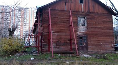 В Балашихе более десяти лет не могут расселить барак послевоенной постройки