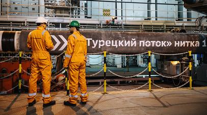 Медведев и премьер Турции обсудили строительство газопровода «Турецкий поток»