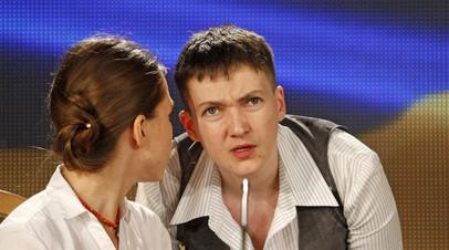 Вера Савченко назвала результаты допроса на полиграфе её сестры Надежды фейком
