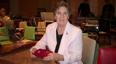 Старейшая солистка оркестра имени Андреева скончалась в Петербурге после ДТП